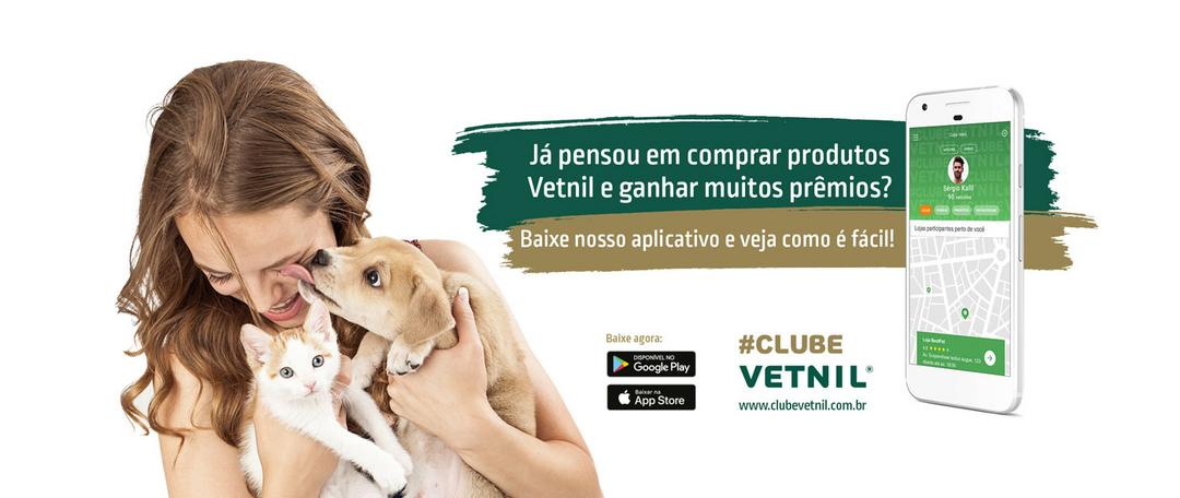 """Programa Clube Vetnil"" é o novo aplicativo de fidelidade para consumidores pet"
