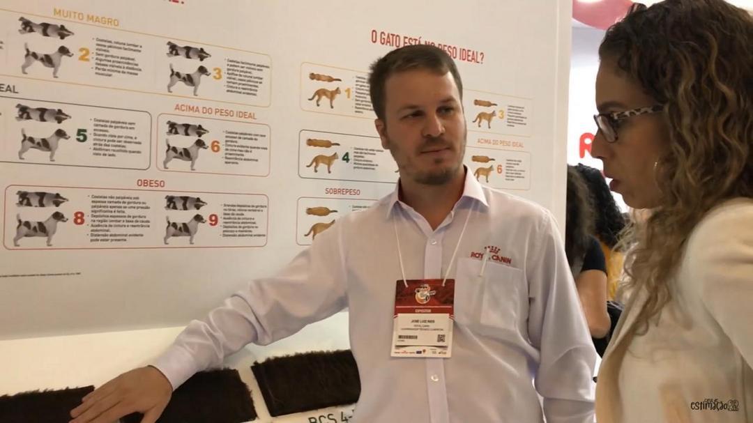Royal Canin traz uma série de experiências para falar sobre obesidade em cães e gatos no MedVep2019