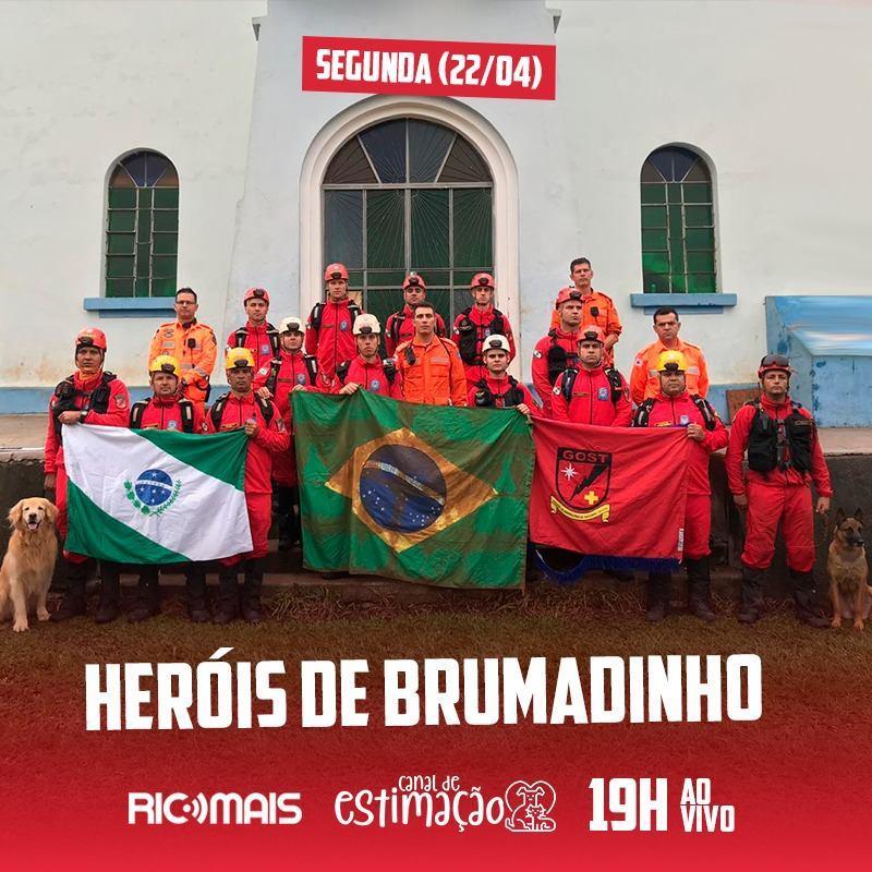 RIC Play apresenta - Programa de Estimação: heróis de Brumadinho