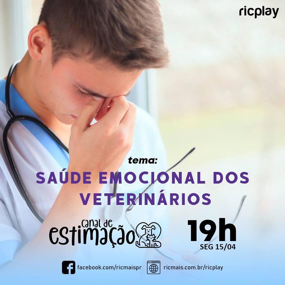 RIC Play apresenta - Canal de Estimação: saúde  emocional dos veterinários