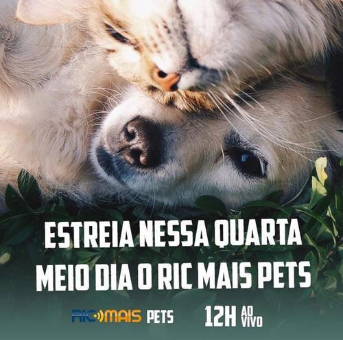 RIC Mais Pets: os benefícios do convívio com animais