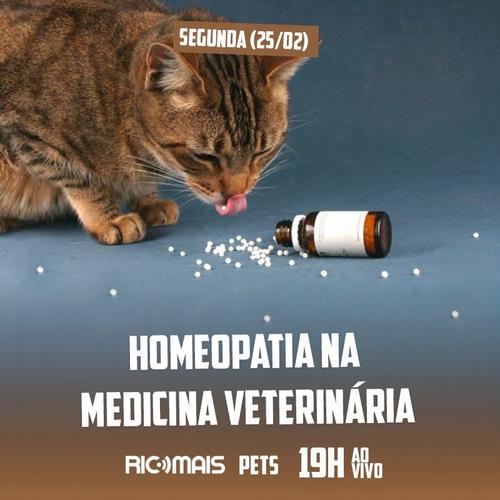 RIC Mais Pets: homeopatia na medicina veterinária