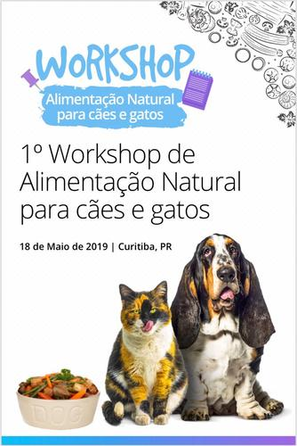 Entrevista - Presidente da Anclivepa PR fala sobre o 1º Workshop de Alimentação Natural para cães e gatos